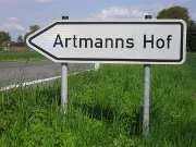 Hier gehts nach Artmanns Hof